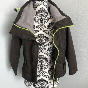 Green SuperDry Jacket
